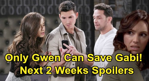 Days of Our Lives Spoilers Next 2 Weeks: Kidnapping, Betrayal & Bayview Beauties - Only Gwen Can Save Gabi