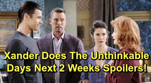 Days of Our Lives Spoilers Next 2 Weeks: Tripp Betrays Claire – Xander Does The Unthinkable - Huge Wedding Returns