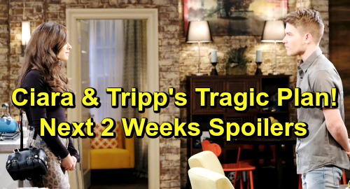 Days of Our Lives Spoilers Next 2 Weeks: Ciara and Tripp's Tragic Disaster - Kate Discovers Shocking 'Nicole' Evidence