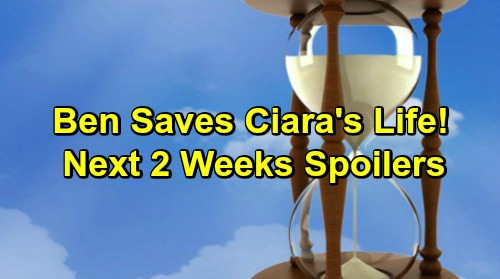 Days of Our Lives Spoilers Next 2 Weeks: Gunshots Fired, Ben Rescues Ciara – Brady Infuriates Leo – Haley's Marriage Offer
