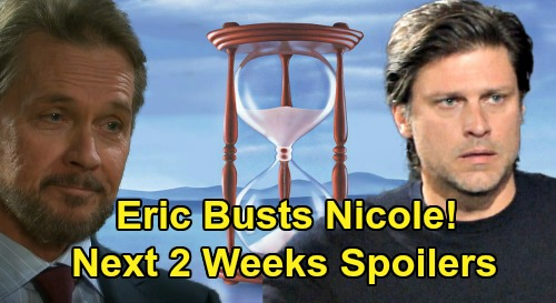 Days of Our Lives Spoilers Next 2 Weeks: Gabi Knocks Abigail Out - Eric Busts Nicole's Lie – Stefano Tells Marlena to Kill John