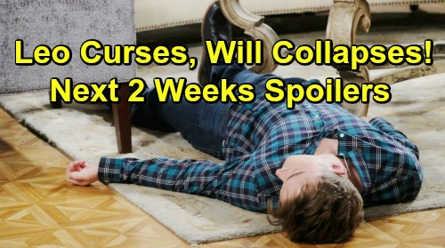 Days of Our Lives Spoilers Next 2 Weeks: Will's Medical Emergency – Jordan's Secret Son – Eve's Rally Shocker