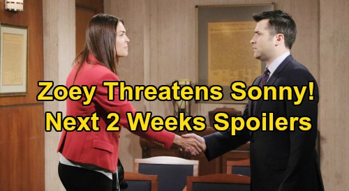 Days of Our Lives Spoilers Next 2 Weeks: Kidnapped John in Orpheus' Clutches – Abigail Attacks Kate – Zoey Threatens Sonny