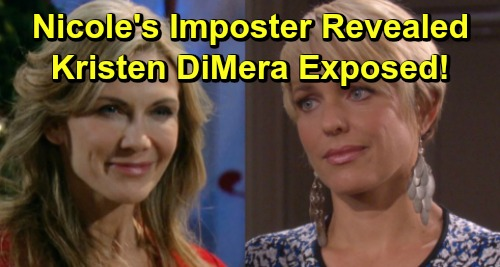 Days of Our Lives Spoilers: Nicole's Imposter Celebrates, Kristen DiMera Hiding in Plain Sight – Xander's Secret Partner Exposed