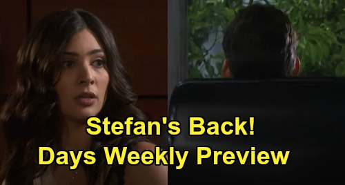 Days of Our Lives Spoilers: Week of April 20 Preview - Enraged Kristen Stabs Victor - Gabi Sees Stefan - Sarah Hides Rachel in Paris