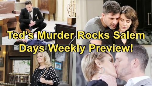 Days of Our Lives Spoilers: Week of August 5 Preview - Rex and Xander Drown Their Sarah Sorrows - Kristen Murders Ted