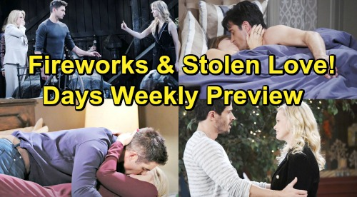 Days of Our Lives Spoilers: Week of July 1 Preview - Stolen Romance, Surprises, and Explosive Confrontations