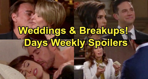 Days of Our Lives Spoilers: Week of July 29 Preview - Sarah's Terrible Mistake - Stabi's Wedding - Brady Sleeps With Nicole