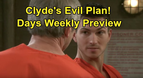 Days of Our Lives Spoilers: Week of November 18 Preview - Adrienne's Death Explained - Clyde's Wicked Ben Plan - Eve Was Framed