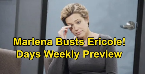 Days of Our Lives Spoilers: Week of October 14 Preview – Marlena Barges In On Ericole's Steamy Moment – Xander's Vow to Sarah