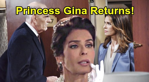 Days of Our Lives Spoilers: Rolf Injects Hope With Mystery Serum, Awakens Princess Gina's Spirit