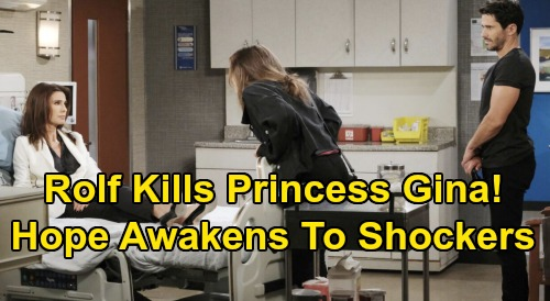 Days of Our Lives Spoilers: Princess Gina's Death Sets Up Devastating Blows - Hope Awakens to Horrifying Bombshells