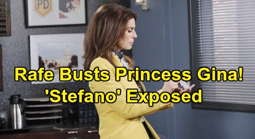 Days of Our Lives Spoilers: Rafe Hunts Down Dr Rolf - Surprises Princess Gina In Secret Lair - 'Stefano' Exposure At Risk
