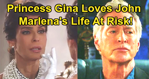 Days of Our Lives Spoilers: Princess Gina in Love with John – Hope's Transformation Brings Dangerous Passion, Marlena at Risk