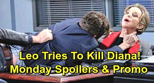 Days of Our Lives Spoilers: Monday, March 25 – John Stops Leo From Killing Diana – Rafe Schemes Against Ted