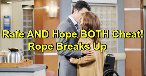 Days of Our Lives Spoilers: Kate Reunites With Rafe After Jordan's Attempted Murder – Hope Cheats With Ted - Rope Finished