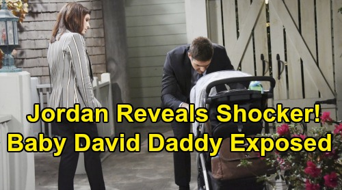 Days of Our Lives Spoilers: Jordan's Big Paternity Reveal - Baby David's Daddy Exposed