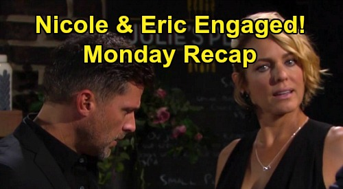 Days of Our Lives Spoilers Recap: Monday, May 25 - Zoey & Hope Gun Struggle - Nicole & Eric Engaged - Bomb At Penthouse