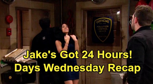 Days of Our Lives Spoilers: Wednesday, June 3 Recap - Claire Wants To Attend Ciara's Wedding - Jake's Got 24 Hours To Save Gabi