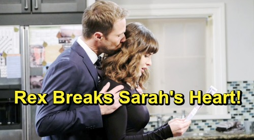 Days of Our Lives Spoilers: Rex Gets Closer to Chloe, Temptation Takes Over – Cheater Breaks Sarah's Heart Again?
