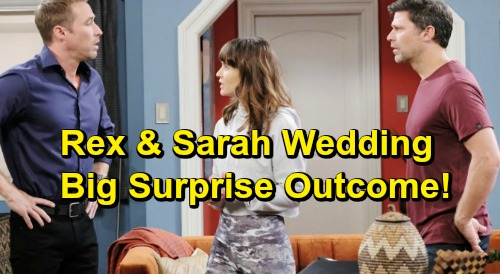 Days of Our Lives Spoilers: Eric Agrees To Officiate at Rex and Sarah's Wedding - Big Surprise Derails Ceremony?