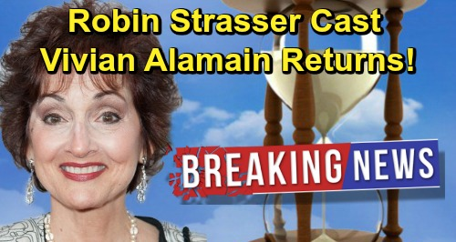 Days of Our Lives Spoilers: Robin Strasser Joins DOOL Cast – Vivian Alamain Recast in the Works