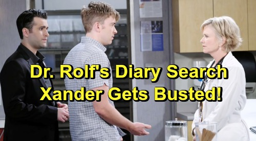 Days of Our Lives Spoilers: John Desperate to Find Dr. Rolf's Diary – Sneaky Xander Gets Busted