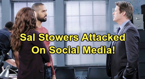 Days of Our Lives Spoilers: Sal Stowers Speaks Out Against Mean Tweet – DOOL Star Thanks Lamon Archey for Standing Up for Her