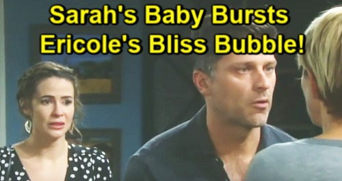 Days of Our Lives Spoilers: Eric Makes Love to Nicole – Sarah's Secret Baby Could Burst Bubble, 'Ericole' Bliss in Jeopardy