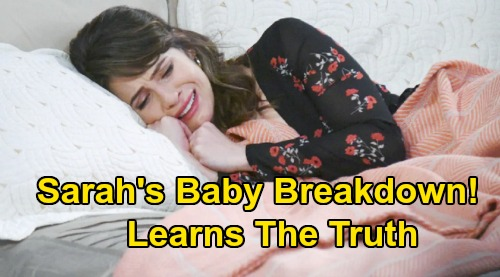 Days of Our Lives Spoilers: Sarah's Emotional Breakdown Over Baby Death - Xander's Switch Fallout Tears Her Life Apart