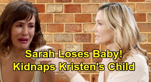 Days of Our Lives Spoilers: Sarah's Tragic Baby Loss - Kidnaps Kristen's Child After Time Jump, Goes To Paris