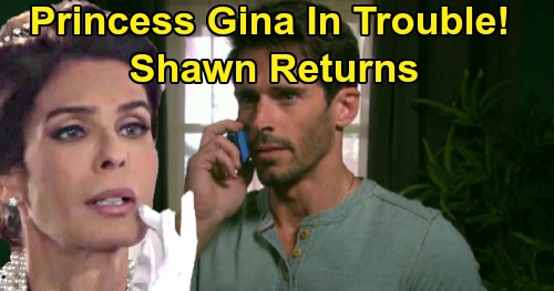 Days of Our Lives Spoilers: Shawn Returns on a Mission, Rafe Needs 'Hope' Help – Princess Gina's Worst Threat Back In Salem