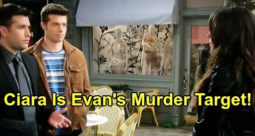 Days of Our Lives Spoilers: Evan Plans To Kill Ciara, Jordan Ridgeway Murderer's Secret In Jeopardy – David's Dad Has New Target?