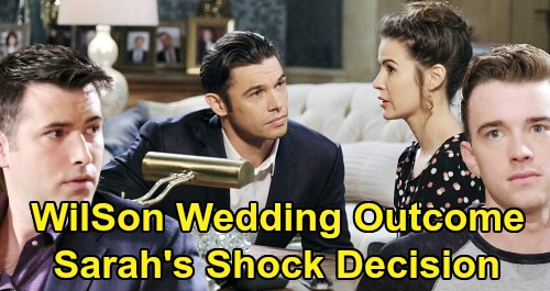 Days of Our Lives Spoilers: Will & Sonny's Bizarre Sarah Encounter – How 'WilSon' Affects Xander Wedding Outcome