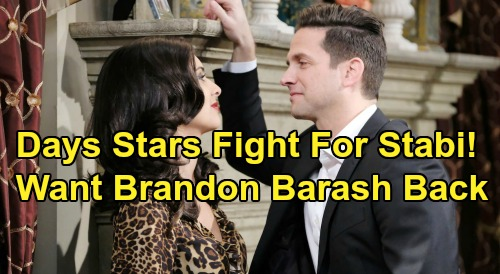 Days of Our Lives Spoilers: Camila Banus & Lamon Archey Support Brandon Barash Comeback – Join Fans Fighting for Stefan Dimera