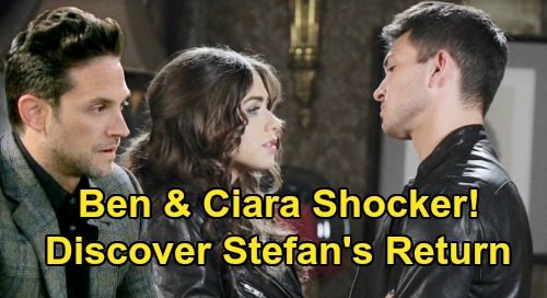 Days of Our Lives Spoilers: Ciara & Ben Discover Stefan DiMera's Return – Motorcycle Shop Bombshell Brings New 'Cin' Story?