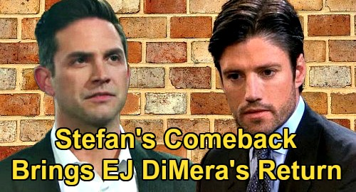 Days of Our Lives Spoilers: Stefan's Comeback Paves Way For EJ DiMera Return – Sami Sets Up Brothers' Rivalry?
