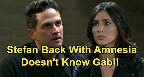 Days of Our Lives Spoilers: Stefan DiMera Returns With Amnesia - Doesn't Remember Gabi – 'Stabi' Reunion Delayed?