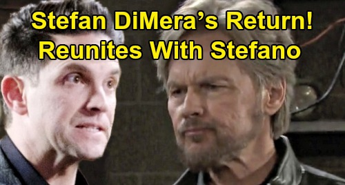 Days of Our Lives Spoilers: Stefan DiMera's Return - Reunited With Stefano Before Steve Comes Back?