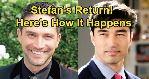 Days of Our Lives Spoilers: Brandon Barash DOOL Return - Li Shin Comes To Salem - In Cahoots With Stefan DiMera?