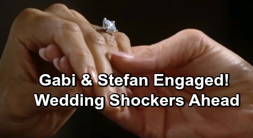 Days of Our Lives Spoilers: Stefan Proposes to Gabi, Can't Fight Feelings – Stabi Wedding Shockers Ahead
