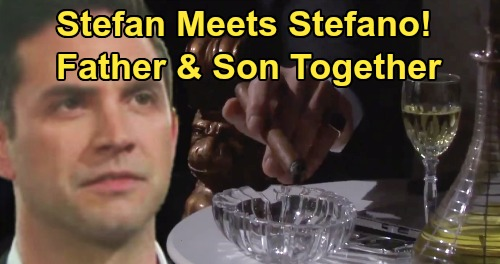 Days of Our Lives Spoilers: Stefano & Stefan DiMera Return - Father & Son Meet Face to Face For The First Time?