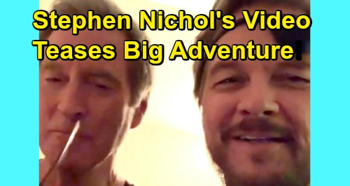 Days of Our Lives Spoilers: Stephen Nichols Shares Behind-The-Scenes Video - Teases Black Patch Adventure