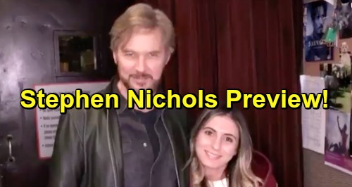 Days of Our Lives Spoilers: Stephen Nichols' Comeback Preview – DOOL Star Shares Exciting Video Message with Fans