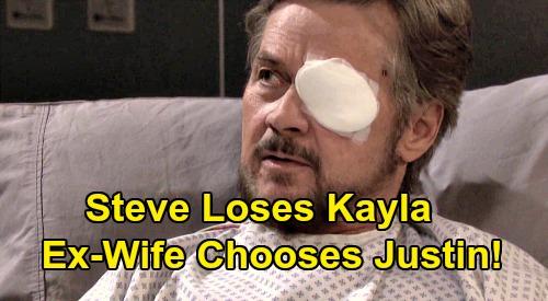 Days of Our Lives Spoilers: Steve's Shocking Decision - Lets Kayla Go To Justin, Hopes She'll Return Someday?