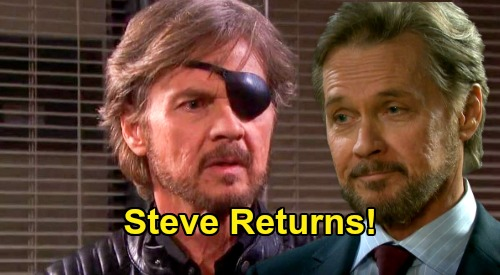 Days of Our Lives Spoilers: Steve Returns - Horrified by Stefano's Reign of Terror – Back to Loving Kayla