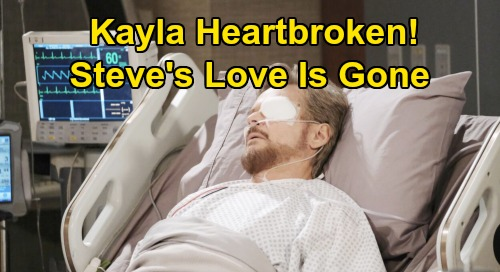Days of Our Lives Spoilers: Steve's Post-Surgery Shocker - Feels No Love For Kayla