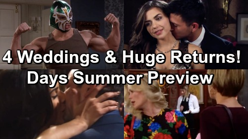 Days of Our Lives Spoilers: Summer Preview Video – Engagement, 4 Weddings, Huge Comebacks and More