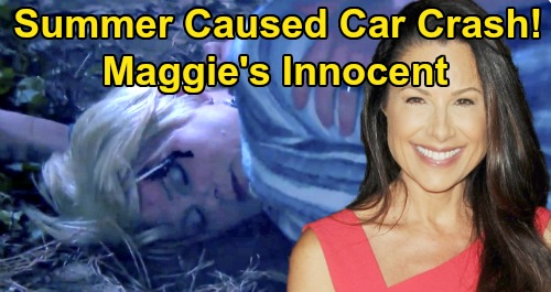 Days of Our Lives Spoilers: Did Summer Cause Adrienne's Death - Maggie Innocent?