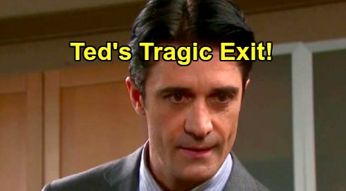 Days of Our Lives Spoilers: Ted's Tragic Shocker – Fight with Tony and Kristen Brings Dark DOOL Exit?